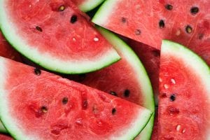 A picture of watermelons